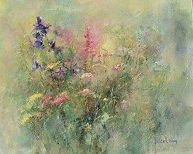 Obrazy - Lúčne kvetiny. - 10591270_