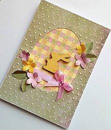 Papiernictvo - veľkonočný pozdrav - 10590413_