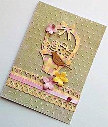Papiernictvo - veľkonočný pozdrav - 10590420_