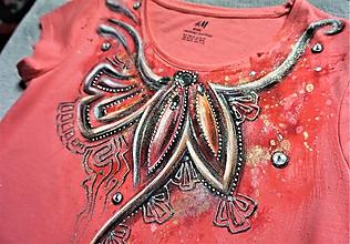 Detské oblečenie - Koralový šperk -  detské tričko - 10592124_