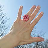 Prstene - Kryštálový prsteň Swarovski
