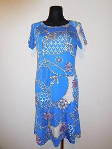 Šaty - Námořnické - 10592516_