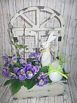 Dekorácie - Jarná dekorácia - 10594087_