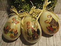 Dekorácie - Veľkonočné vajce - 10594283_