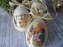 Dekorácie - Veľkonočné vajce - 10594289_