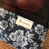 Úžitkový textil - Sada vrecka na ovocie zeleninu sieťka čierne - 10593256_