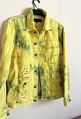 """Kabáty - rifľová bunda """"oslňujúca"""" - 10592419_"""