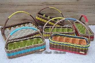 Košíky - košíky na vajíčka - 10592900_