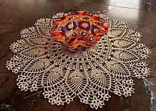 Úžitkový textil - Čipka na objednávku. (Modrá) - 10591995_