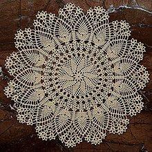 Úžitkový textil - Čipka na objednávku. (Modrá) - 10592097_