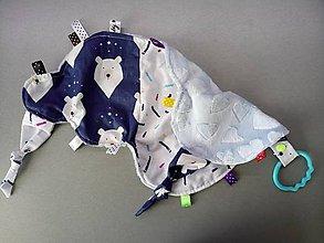 Hračky - Mojkáčik obláčik medvede a konfety - 10592413_