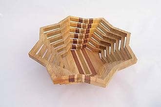 Nádoby - Drevená miska 27cm - 10593957_