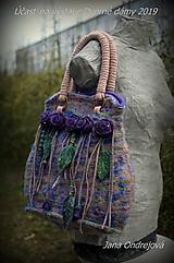 Veľké tašky - Plstená kabelka Chanelka - 10594585_