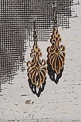 Náušnice - Drevené náušnice - Ornament 2 - 10593691_