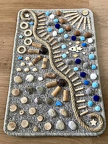 Detské doplnky - Senzomotorický koberec Space - 10592553_