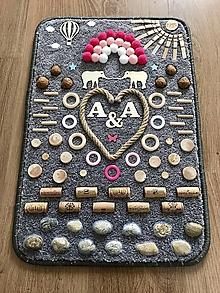 Detské doplnky - Senzomotorický koberec Elephants (dvojičkovský) - 10592670_