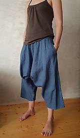 Nohavice - ľanové sukňogate - 10594587_