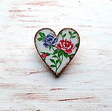 Odznaky/Brošne - brošňa ružičky No.1 - 10593921_