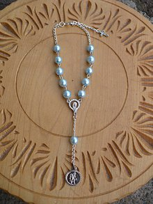 Iné šperky - ruženec do auta so sv. Krištofom - 10594116_