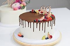 Dekorácie - Zápich na tortu číslo 80 - 10598616_