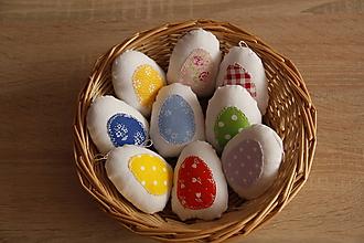 Dekorácie - Vajíčko vo vajíčku - 10596689_