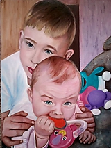 Obrazy - Portrét - 10595330_