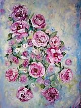 Obrazy - Ruže - 10596643_