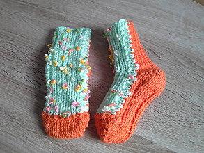 Topánočky - Detské ponožky 7 - 10596693_