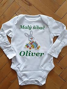 Detské oblečenie - Veľkonočné body - 10595931_