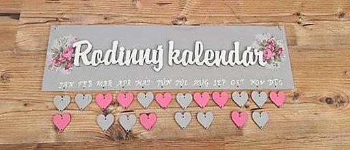 Tabuľky - Rodinný kalendár - 10596153_