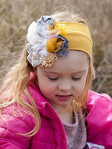 65ecdc0d9 Handmade vecičky pre deti doplnky pre dieťa Žlté Do vlasov / SAShE.sk