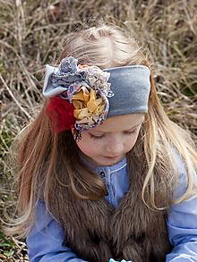 d81f0af06 Handmade vecičky pre deti doplnky pre dieťa Šedé Do vlasov / SAShE.sk