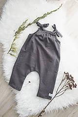 Detské oblečenie - Dlhé romperky LI-LO (bio-bavlna) - 10595576_