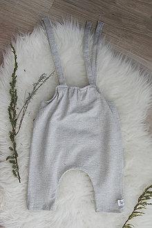 Detské oblečenie - Dlhé romperky MI-LO (bio-bavlna) - 10595839_
