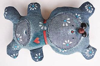 Hračky - Rifľový medvedík - 10595918_
