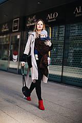 Kabáty - Nosičský kardigan Swan - 10598970_