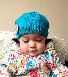 Detské čiapky - Detská baretka - 10598344_