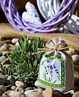 Úžitkový textil - Vrecká na levanduľu II. - 10595468_