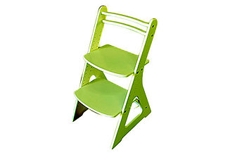 Nábytok - Rastúca stolička FAIR I - tm. zelená - 10598557_