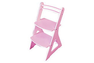 Nábytok - Rastúca stolička FAIR I - ružová - 10598842_