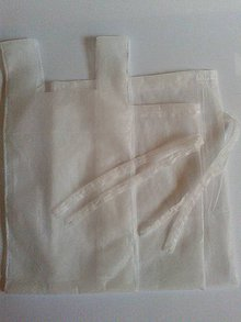 Úžitkový textil - Superľahké vrecúško na ovocie a zeleninu (Sada 3ks) - 10596814_