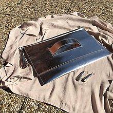 Kabelky - XL listová kabelka so strapcom - 10598610_