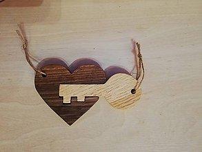 Kľúčenky - Kľúč od tvojho srdca - 10597396_