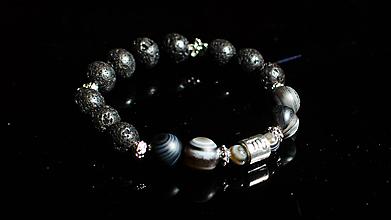 Náramky - Náramok z prírodných kameňov - 10597691_