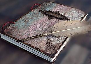 Papiernictvo - Kronika 10 rokov manželstva/Luxusná kronika/fotoalbum/ /album/kniha lásky - 10596303_