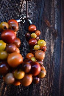 Náramky - Náramok XL - jesenné ovocie - 10597712_