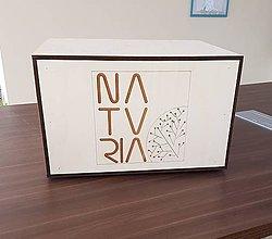 Nábytok - Bedňa pod chlaničku s logom - 10595989_