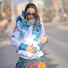 Mikiny - Origo mikina 7 kvety - 10595482_