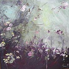 Obrazy - kvetinové zátišie - 10594953_