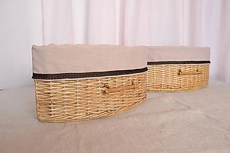 Košíky - Rohové košíky MARTA/ ks - 10596819_